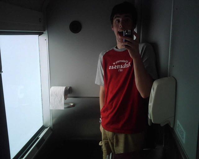 Charter Bus Bathroom | By HBwildcatMobile Charter Bus Bathroom | By  HBwildcatMobile