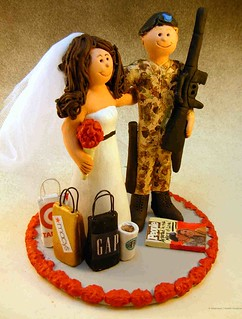 Army Wedding Cake Topper | by customweddingcaketoppers