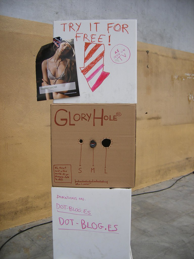 Glory hole box