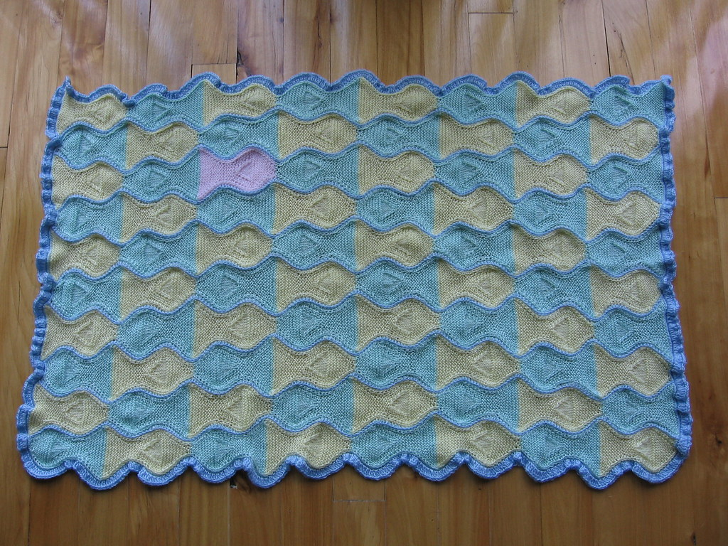 Tessellating Fish Blanket   A baby blanket for my new niece …   Flickr