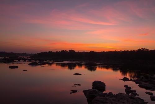 Orchha sunrise