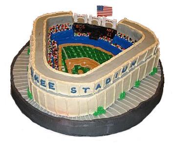 Image Result For Yankee Stadium Birthday Cake