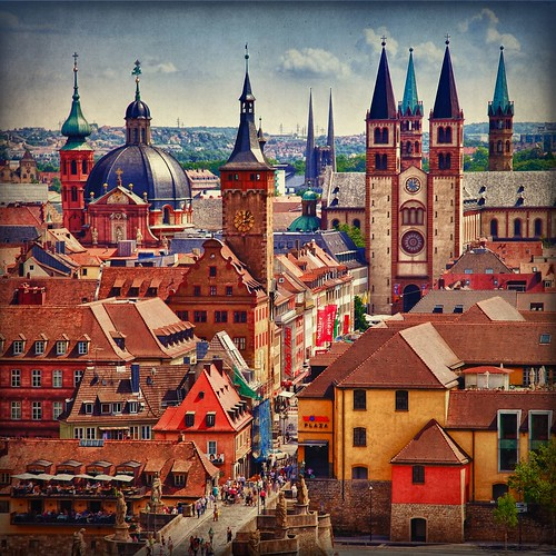 Spires of Wurzburg | by PCsAHoot - Dipping toes in...