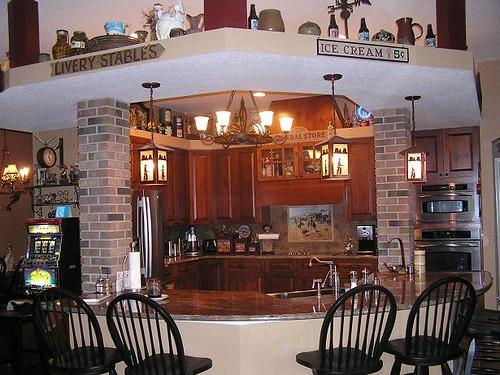 Knotty Alder Kitchen Cabinet Ideas