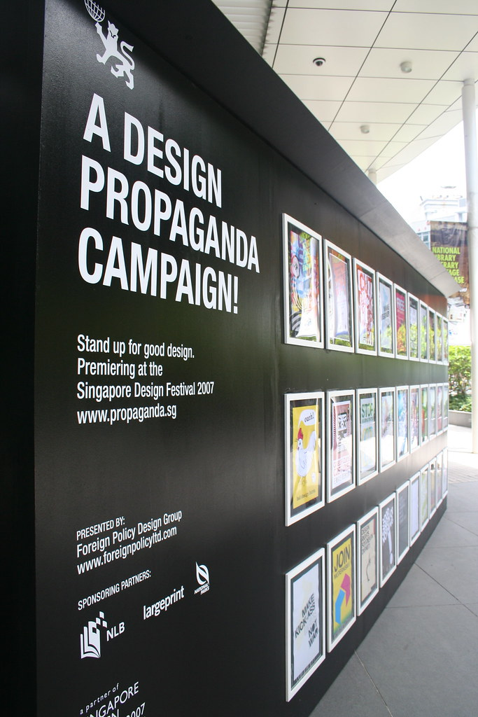 3d Exhibition Designer Jobs In Singapore : A design propaganda campaign the exhibition venue