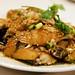 roast chicken with garlic sauce