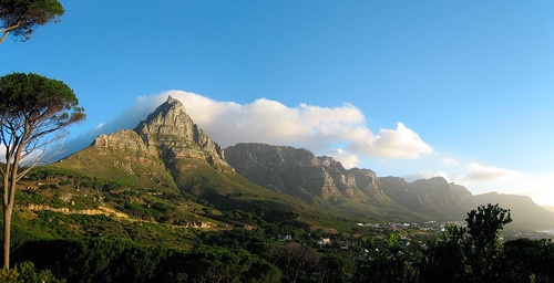 Peaks in Beautiful Evening Light Panorama, Table Mountain National Park, South Africa | by Pet_r