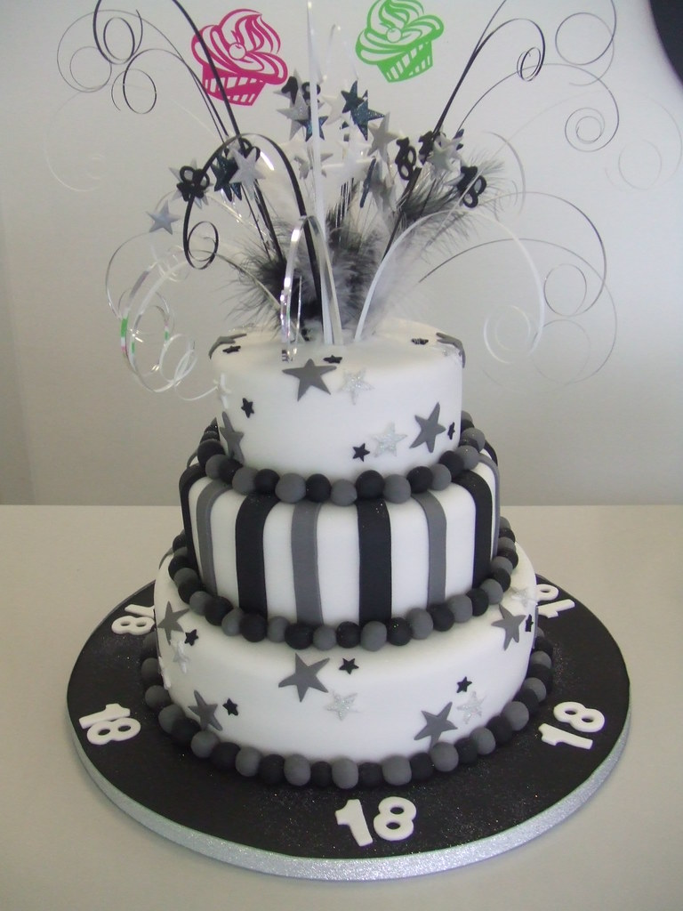 Cake 18th birthday jules enquiries for 18th birthday cake decoration ideas