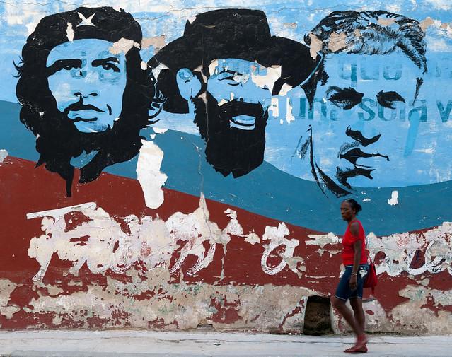 A mural in Centro Havana