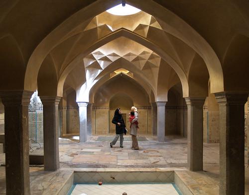 bath house, isfahan october 2007 | the fine 18th century ...