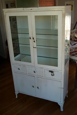 Vintage Medical Cabinet Empty Love This Cabinet But