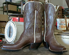 The first cowboy boot I ever made. | by Jennifer June