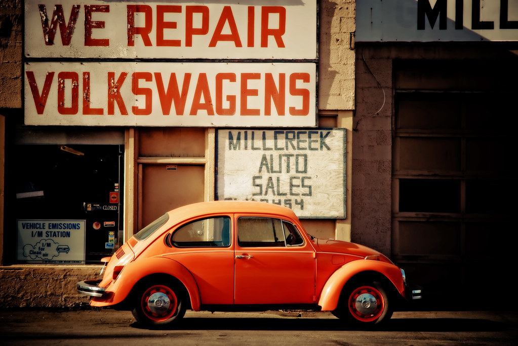 We repair volkswagens salt lake city utah love this for Credit auto garage volkswagen