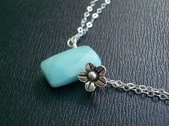 Simple Amazonite (Necklace) | by Dorisworks