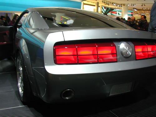 Mustang Concept >> 2005 Mustang Concept rear view 3 | This was the concept car … | Flickr