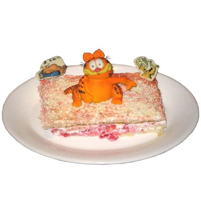Garfield's Favorite Lasagna Cake