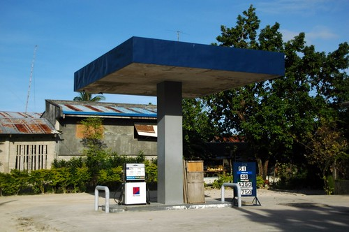 petrol station | by 3dom