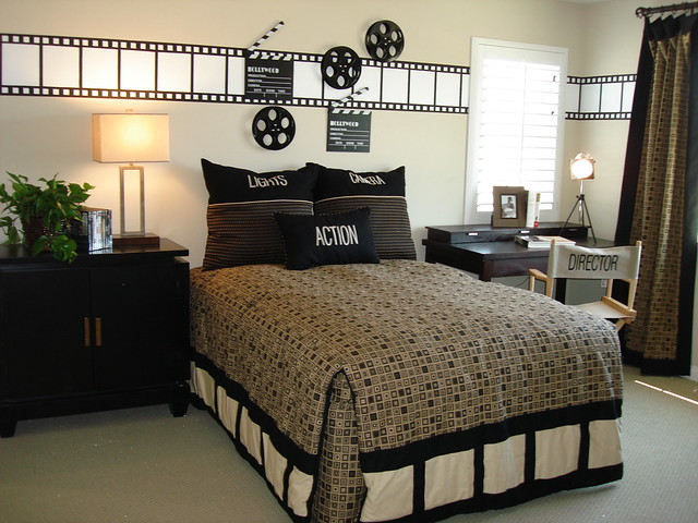 Boy S Room Quot Movie Director Quot Themed Room Julie Thigpen