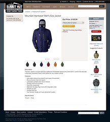 8. SummitHut.com - Product Page (Jacket) | by simpledream