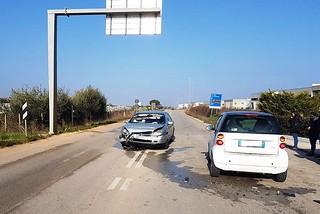 Noicattaro. Incidente S.P. 240 front