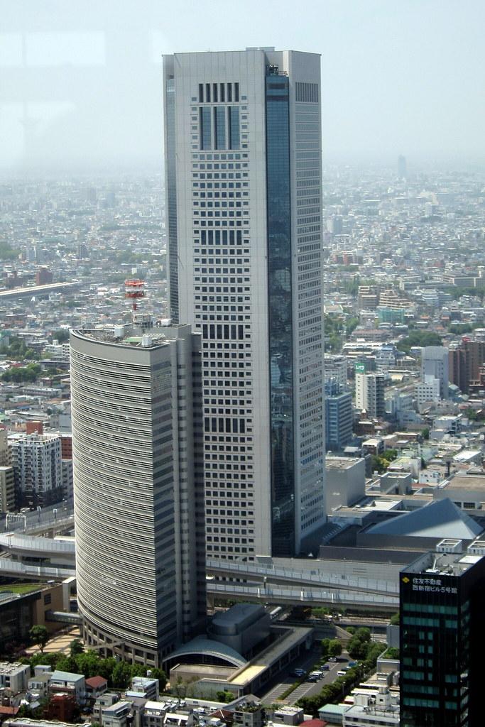 Tokyo Nishi Shinjuku Ntt Shinjuku Headquarters And Toky