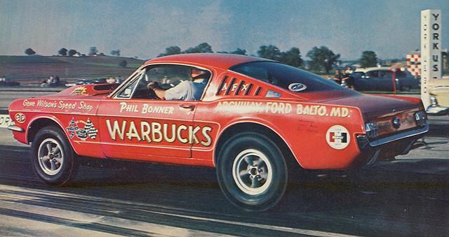 "Ford Mustang 65 >> Phil Bonner | Phil Bonner's ""Daddy Warbucks"" '65 Mustang 427… | Flickr"