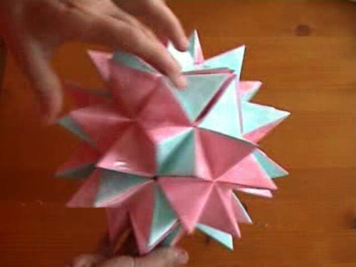 Video perfectly 3d star this star can be blue or red for Make a 3d star