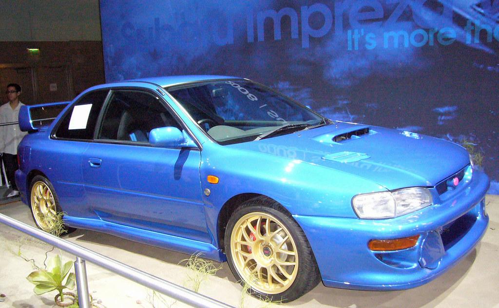 Subaru 22b Sti Subaru B22 Sti C Mcguckian Flickr