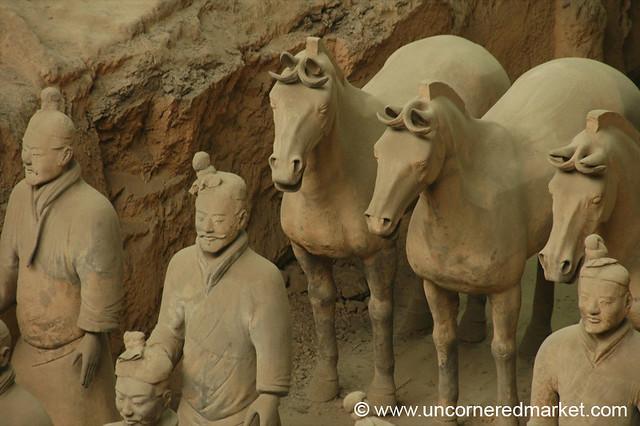 Terracotta Warriors and Horses - Xi'an, China | Several ...  Terracotta Warr...