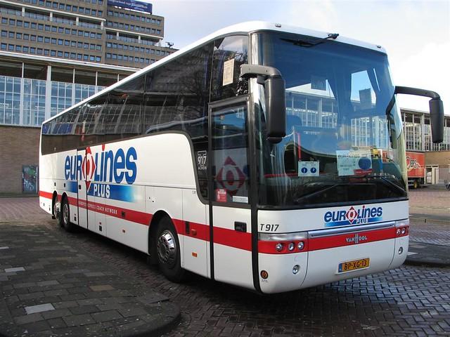 eurolines bus 13 amsterdam amstelstation ns bus of eurolin flickr. Black Bedroom Furniture Sets. Home Design Ideas