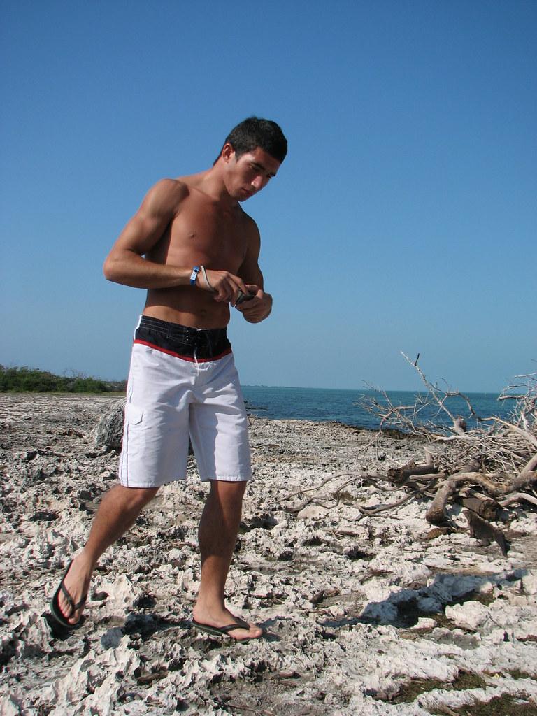Img3308 Hot Italian Man At Iguana Island, Cayo Largo, Cub -4296