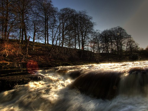 aysgarth falls - lower falls | by Chris Tait