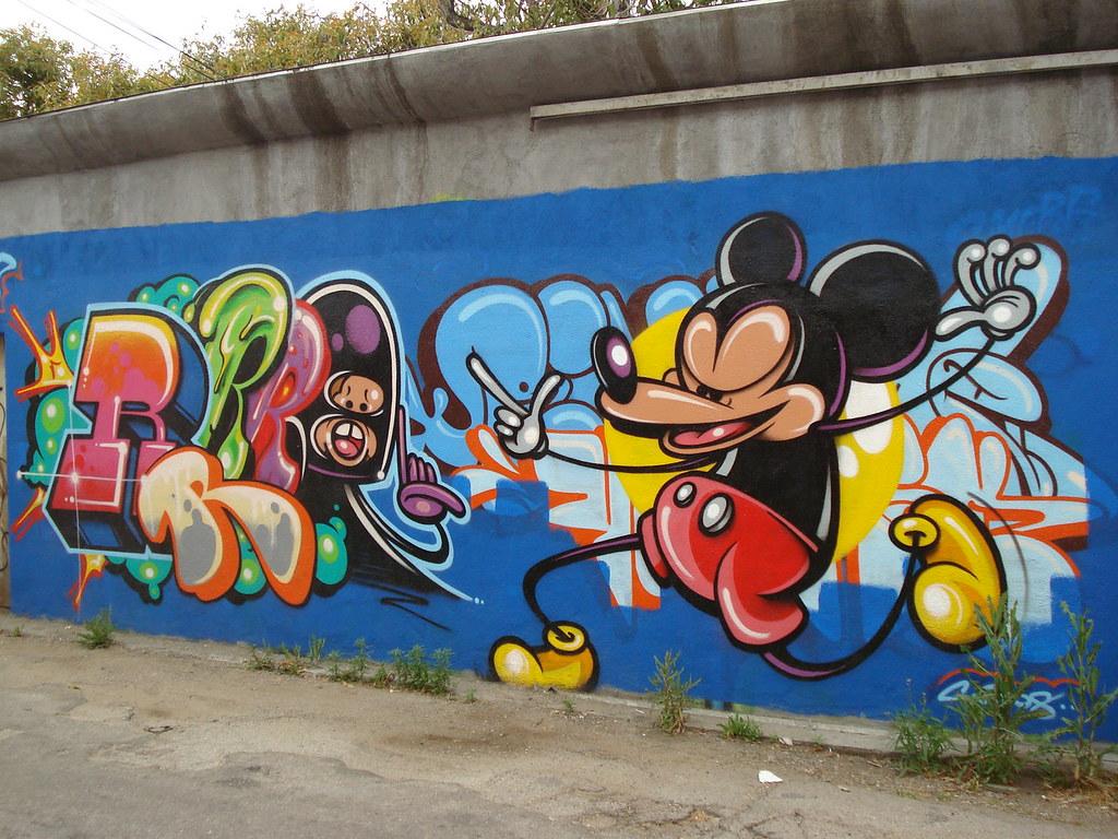 Rime MSK AWR SeventhLetter LosAngeles Graffiti Art   Flickr