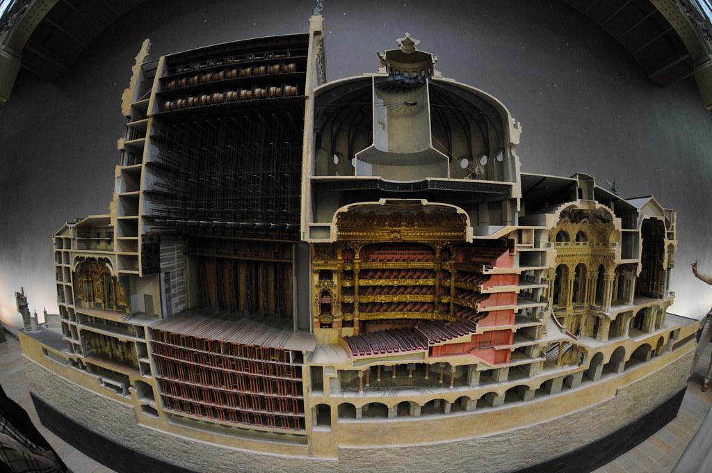 Model Of The Paris Opera House Mus 233 E D Orsay Stefan Geens Flickr