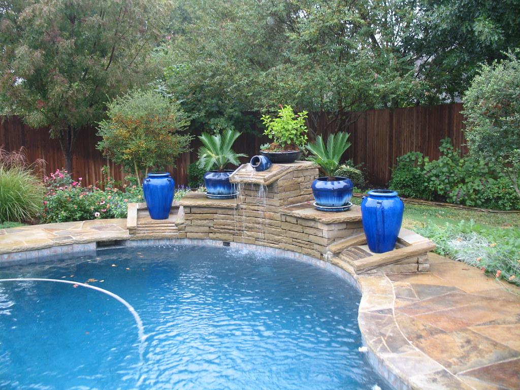 Dallas Custom Swimming Pool This Unique Swimming Pool