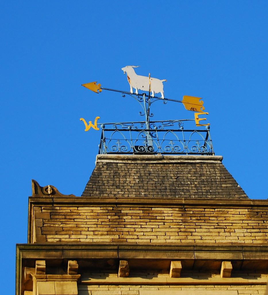 Goat On Roof Of Al Johnson S Restaurant