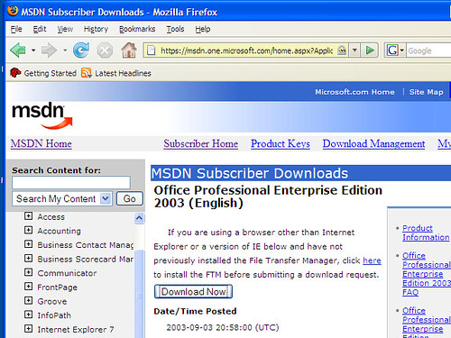 Msdn Subscriber Downloads