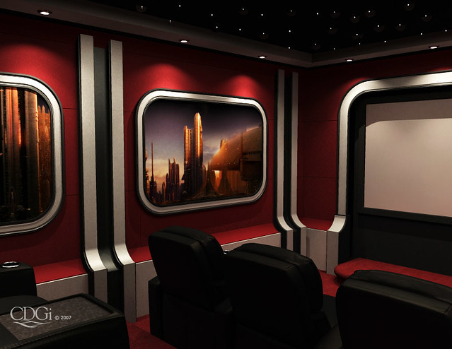 Palpatine 39 S Suite Theater Design Home Theater Interior