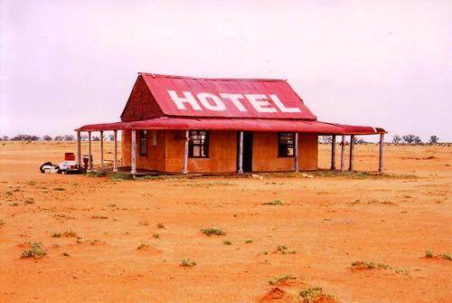 outback pub not a real pub just built for a film set. Black Bedroom Furniture Sets. Home Design Ideas