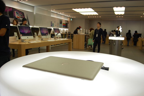 MacBook Air, Apple Store Shinsaibashi | by Tbky
