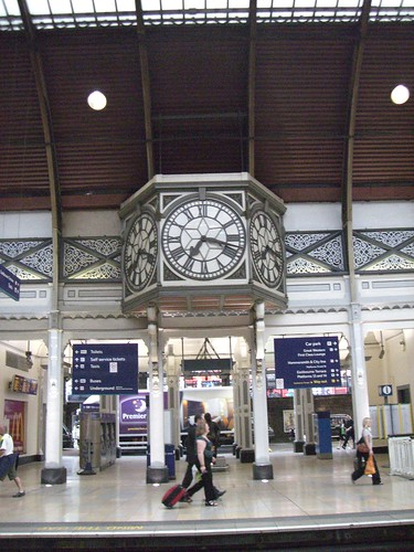 Clock on Paddington Station | by :: Wendy ::