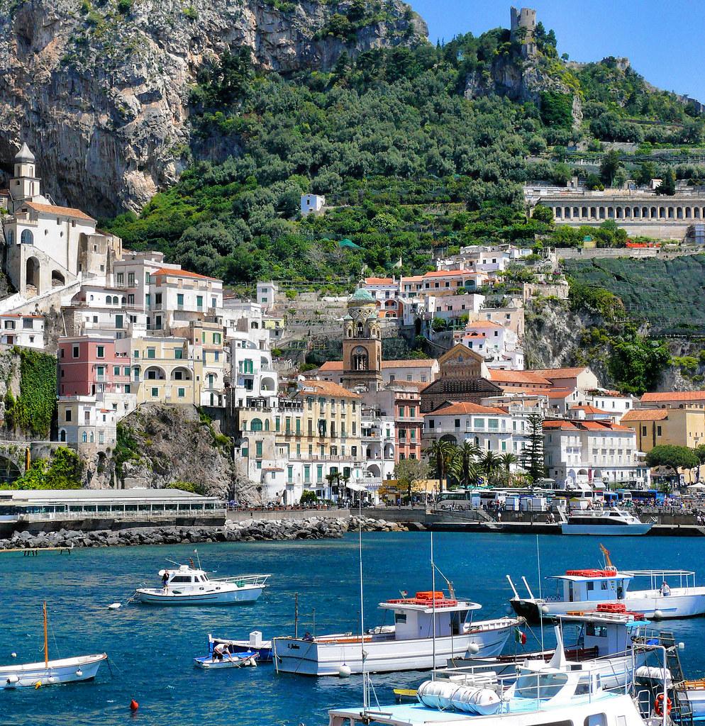 Amalfi italia taken in amalfi italy in a wonderful for Italia amalfi