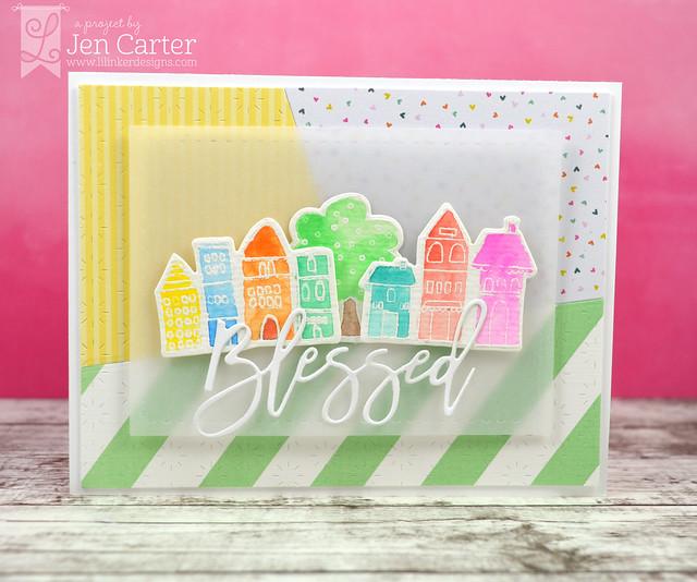 Jen Carter Rustic Spring Brush Script Spring Blessed 1 wm
