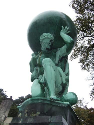 statue of atlas portmeirion donal murphy flickr