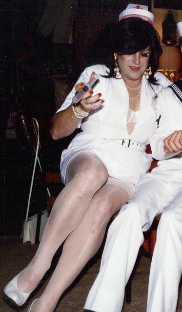 nurse gayle a fancy dress party outfit gayle lewis flickr. Black Bedroom Furniture Sets. Home Design Ideas