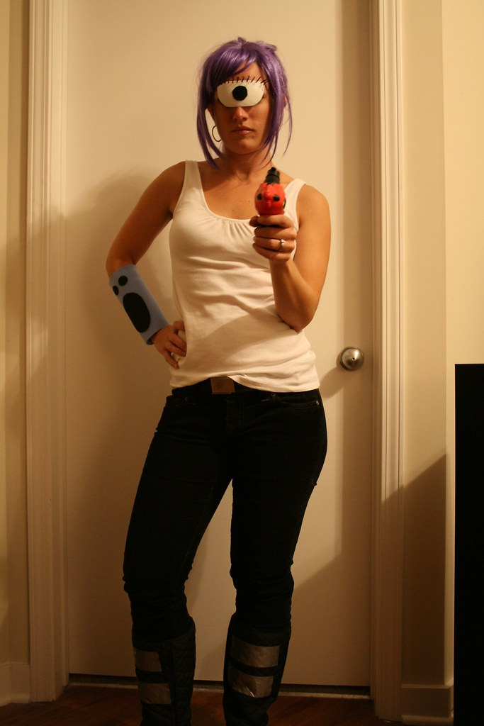 Leela | This costume was a cinch to make and super cheap ... Leela Costume