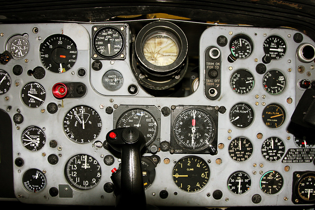 What Is Voodoo >> CF-101 Voodoo Training Cockpit | Traing cockpit for CF-101 ...