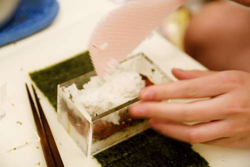 making a spam musubi | by roboppy