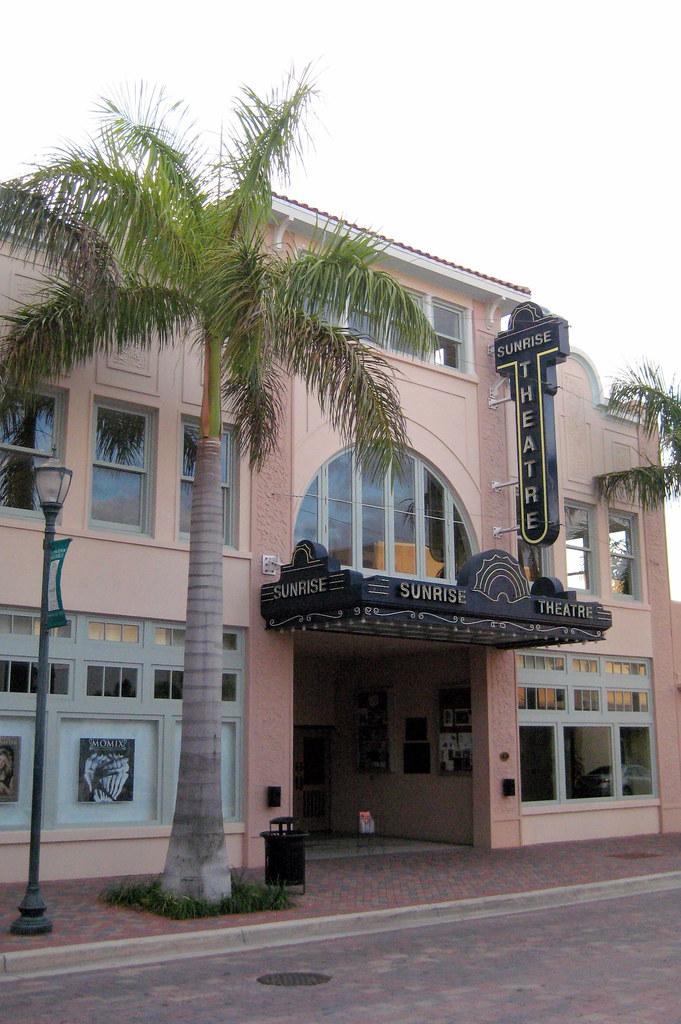 Florida Fort Pierce Sunrise Theatre The Sunrise