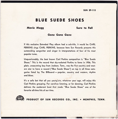Carl Perkins Blue Suede Shoes Video